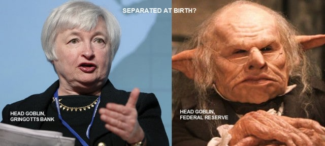 Gringotts Separated at Birth