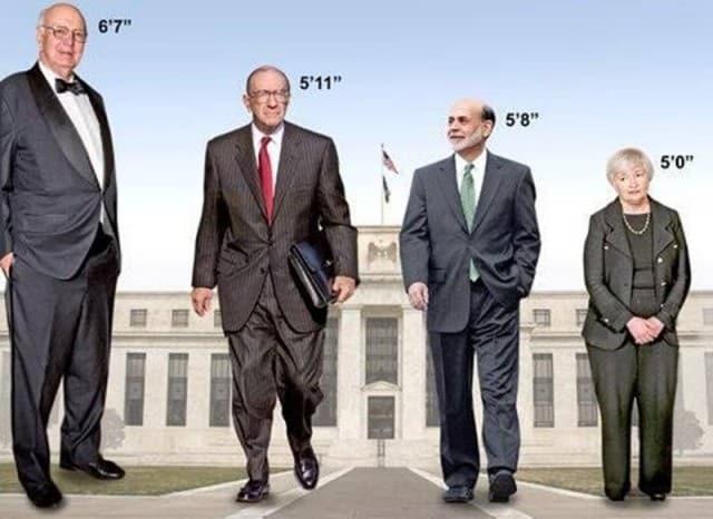 Fed Deflation since 1980