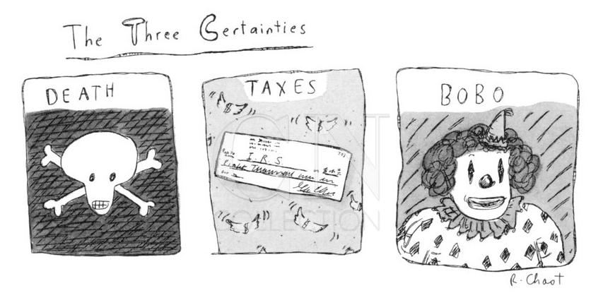 The three certainties