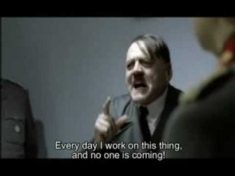 Hitler Tries Financial Blogging