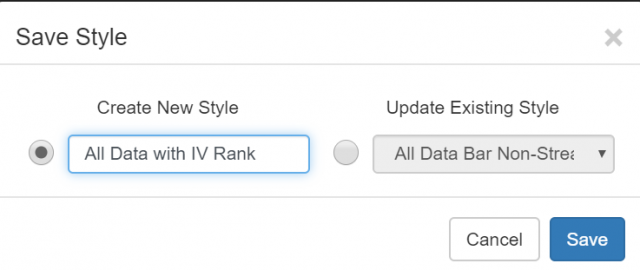 Save Styles in SlopeCharts